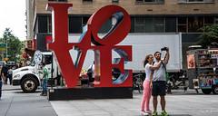2016 - New York City - Selfie LOVE