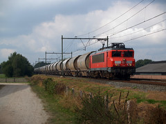 DBC 1614 (jvr440) Tags: trein train spoorwegen railroad railways dbc db cargo 1600 1614 dolime baexem roermond goederentrein