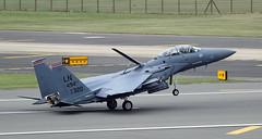 F-15 (NickWakeling) Tags: f15 raflakenheath lakenheath suffolk aircraft military militaryaircraft usaf aviation canon600d canonef400mmf56lusm