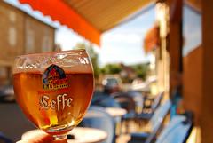 Une bonne soire (Basse911) Tags: leffe glass biere beer bier birra cerveza l cnac france