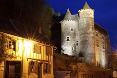 Chteau de Vieillevie (cyrille godard) Tags: chteau vieillevie chteaudevieillevie castle lot france nuit night cantal auvergne