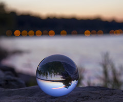 (donna leitch) Tags: ball crystal bokeh water bay hamilton donnaleitch