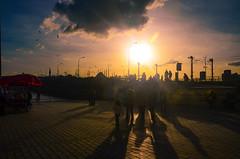 Sunset in Istanbul (ImSaidoww) Tags: sunset eminn istanbul landscape manzara karaky sea sunshine sunray people life inspire nikon nikond5100 nikonphotography