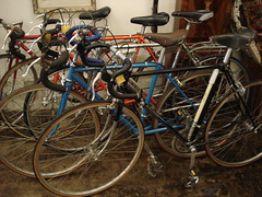 "SCHWINN, ALLEGRO, AND RALEIGH LIGHTWEIGHT RACING BIKES. • <a style=""font-size:0.8em;"" href=""http://www.flickr.com/photos/51721355@N02/30252495146/"" target=""_blank"">View on Flickr</a>"