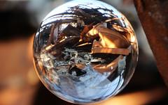 IMG_3957 RUSTY DISTORSION (WORLD OF FMR) Tags: cristal ball magic distrosion rust dust rusty canon friche industriel destroy decay abandon urbex