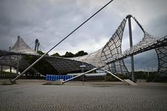 Geometry in Architecture (pringle-guy) Tags: nikon germany deautschland munich munchen soccer football bayernmunich olympic olympicpark olympicstadium ארכיטקטורה גרמניה מינכן ספורט כדורגל אולימפיאדה הפארקהאולימפי האיצטדיוןהאולימפי