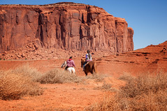 Navajo Riders (danielacon15) Tags: coloradoplateau monumentvalley navajotribalpark unitedstates desert landscape nature traveldestination americansouthwest colorful naturalmonuments travel utah erosion mesas outdoors riders horses outdoor