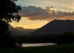 Sunset over Derwentwater (cricketlover18) Tags: cumbria lakedistrict sunset derwentwater