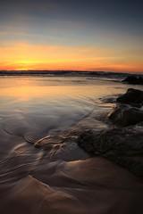 Pure. (bmauviard) Tags: water waterwaterwater coolshot amateurs sunrisesunsets nature ilovenature flickrnature seascape fotoclub sunset