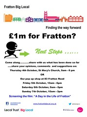 Fratton poster Oct 2012 (Big Local) Tags: poster flyer invitation posters leaflet publicity invite flyers fratton leaflets biglocal localtrust