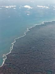 South Taranaki coast (bichane) Tags: above newzealand window coast aircraft altitude south nz northisland coastline taranaki
