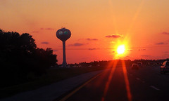 The Friendly City (RNS Vacation Rental Software) Tags: life sunset watertower friday mycity rns