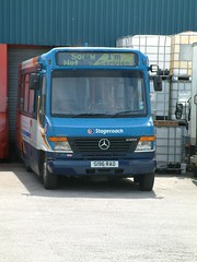 Stagecoach North West Mercedes Vario Alexander ALX100 42096 S196 RAO (nsf323) Tags: stagecoachnorthwest fleetwoodoutstation
