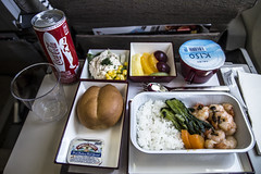 OZ107 Asiana Flight Meal (JohnnieShene) Tags: canon eos rebel inflight meals flight sigma meal airways airlines qantas 1770 asiana t3i airway 284 600d 1770mm f284 qf21 oz107