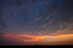 Vernon Texas Stormy Sunset (SWR Chantilly) Tags: sunset texas storms vernon