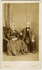 Portraits, c1865 (P&KC Archive) Tags: people building tourism fashion sport architecture scotland 19thcentury perthshire scene recreation roads royalty aberfeldy spectacle perthandkinross