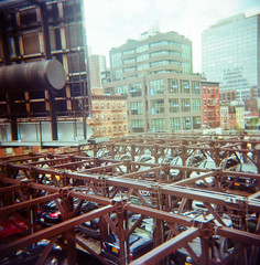 77820004.jpg (lauritadianita) Tags: camera city nyc sky ny newyork cars bike buildings mediumformat holga lomography parking toycamera bluesky billboard cielo biking repetition borough bigapple camara bigcity rectangles nuevayork tallbuildings layered colorfilm portra160 120mmfilm elevatedparking playcamera