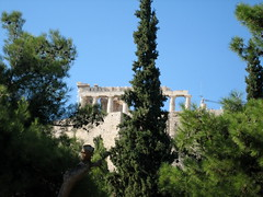 134 - Parthenon & trees (Scott Shetrone) Tags: plants other events places athens parthenon greece monuments acropolis 5th anniversaries cyprustree