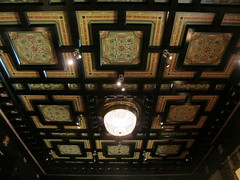 Light Fixtures (southofbloor) Tags: lighting light chicago building lamp architecture chandelier fixture artglass driehausmuseum