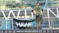 Skateboarder Legend .... Tony Hawk .... Dundas Square, Toronto, Ontario, Canada (Greg's Southern Ontario (catching Up Slowly)) Tags: tonyhawk tonyhawktoronto skateboarding skateboardinglegendtonyhawk toronto dundassquare nikon sportsphotography vertskateboarding