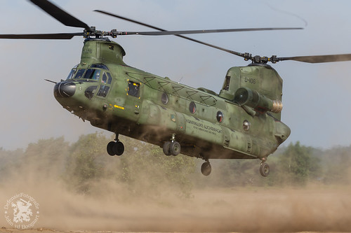 Chinook CH47-D brownout