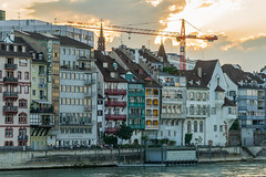 Basel with the river Rhein and his beautiful old houses (TM Photography Vision) Tags: basel schweiz grossbasel fluss river switzerland rhein sony alpha a850 zeiss 135 18 landscape fullformat riehen