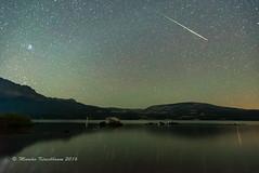 Silent Light - 2016 Perseid Meteor (Marsha Kirschbaum) Tags: california landscape silverlake reflection astrolandscape marshakirschbaum sonya7s perseid2016meteorshower starrysky amadorcounty night sky