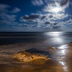 IMG_8897 Calblanque _1 (digsoto - Diego Soto) Tags: calblanque clik cartagena moon luna longexposure largaexposicion mar mediterrneo