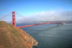 IMG_0288_290 Golden Gate Bridge HDR (vicjuan) Tags: 20160814  usa  ca california marinheadlands hdr tonemapping geotagged goldengatebridge geo:lat=37829871 geo:lon=122483283 marincounty