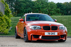 Arches (MJParker1804) Tags: bmw 1m 1 series m coupe valencia orange n54 straight six twin turbo