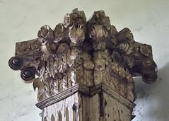 Displaced column (Ron27ald) Tags: church simbahan d7000 architecture pillar iloilo philippines