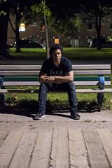 _DSC8155 (jatamaniuk) Tags: nikon d750 toronto torontobeaches nightphotography tamron2470f28vc portrait selfportrait lightroomcc colour