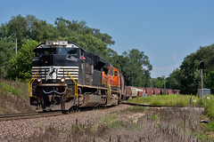 Bar Code (Trainboy03) Tags: norfolk southern ns 1111 colona illinois il
