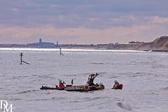 Mundesley 3 (davemoly17) Tags: davidmolyneuxphotography sea seaside beach beachhuts coast sand groynes waves water mundesley norfolk lifeboat sunny canon eos 1100d sigma wideangle