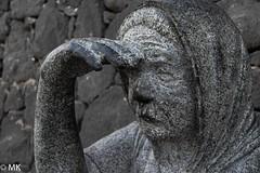 Ausschau (Matthias_Cologne) Tags: espagne espaa fuerteventura hiszpania insel morrojable skulptur spagna spain spanien spanje urlaub ada beeldhouwkunst eiland escultura isla island isola rzeba sculpture scultura wyspa le ispanya