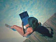 Tan a gustito (Panthea616) Tags: desafodeverano2016 lodefotos verano summer agua relax lomo 7dwf
