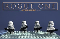 Rogue One (Miro78) Tags: star wars rogue one promo moc lego beach scene stormtroopers