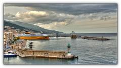Port de Bastia (au35) Tags: corse bastia port ferry mditerrane ile mer sea ciel sky nikon d5000 hdr