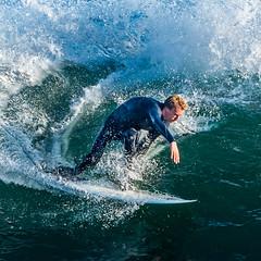 ArchitectGJA-4297-3.jpg (ArchitectGJA) Tags: lighthousepoint surfing californiababy hurley wetsuit santacruz ripcurl xcel lighthousefield california beach marineanimals coast cliffs waves streetphotography patshaughnessy surfingsteamerlane coastlife steamerlane oneill montereybay