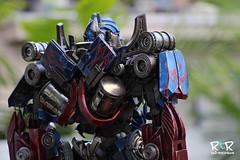 3A - Optimus Prime (radtoyreview) Tags: transformers threea 3a ashleywood toys toyphotography toycollection toyphotos radtoyreview rtr megatron collectibles collectibletoys