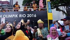 Malaysia 59th National Independence Day (Chot Touch) Tags: malaysia kualalumpur merdeka merdekaparade merdekasquare festivalofcolors olimpikrio2016 tradisional sehatisejiwa kementerianbeliadansukan jalurgemilang ricohgxr leechongwei badminton olympicgamesrio2016 azizulhasniawang trackcyclist hijab