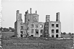 Knocka Castle, Templemore, Co. Tipperary (National Library of Ireland on The Commons) Tags: robertfrench williamlawrence lawrencecollection lawrencephotographicstudio thelawrencephotographcollection glassnegative nationallibraryofireland knockacastle templemore northriding troubles burnings countytipperary castle ruin tower knockaghcastle drom knocka barna towerhouse locationidentified