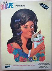 Lavender Lady - the box (Leonisha) Tags: puzzle jigsawpuzzle puzzlebox puzzleschachtel