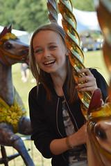 Marie (Jacqueline138Kelly) Tags: jacquelinekelly nikon 60mm vintagefayre vintage fayre dodgems carousel play fun british portrait