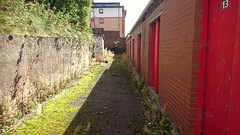 Behind the old turnstiles, city end, Firhill Stadium. (P4Jags) Tags: partickthistle maryhill jags firhill glasgow stadium turnstile