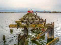 Pierless (diminji (Chris)) Tags: scotland lovescotland leith portofleith pier boats hdr hdrtoning effects edinburgh
