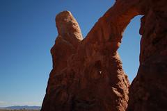 Turret Arch (jamelah) Tags: southwestadventure archesnationalpark moab utah hike hiking turretarch windowstrail eleventybilliondegrees
