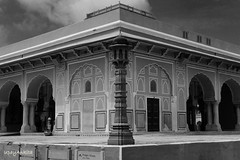 City Palace, Jaipur (upayankita) Tags: jaipur rajasthan india d3200 travel history royal city palace monochrome