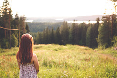 enjoying the view (Nippe16) Tags: portrait summer landscape warm colors