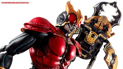 Kamen Rider Kuuga and Gouram Wallpaper 1 (BerserkFlow) Tags: sic superimaginativechogokin kamen rider kuuga toy action figure mighty form amazing gouram shfiguarts bandai masked volume vol 56 decade